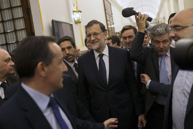 Los legisladores rechazan de nuevo a Rajoy
