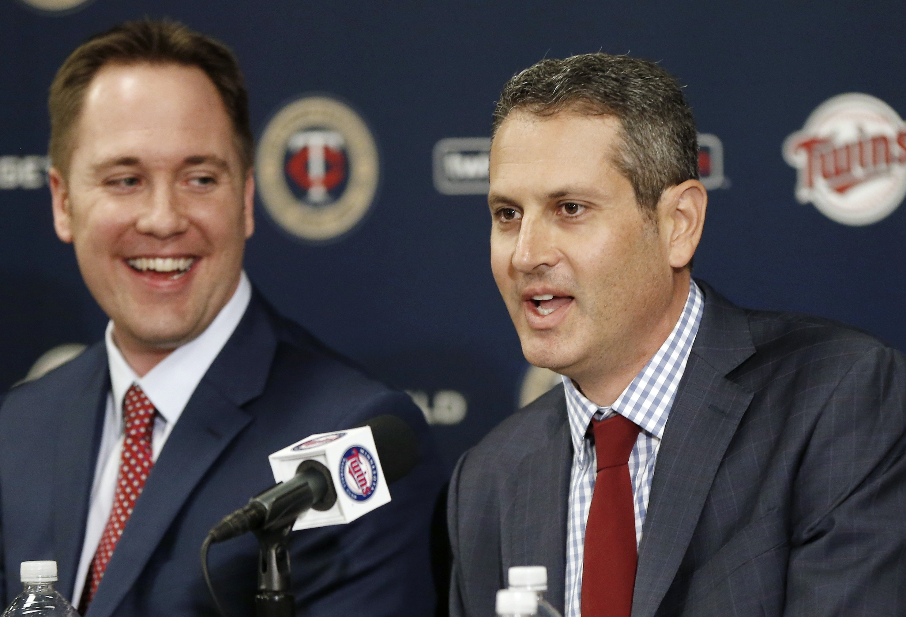 New Twins front office hits the ground running