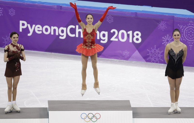 Russians get first gold thanks to 15-year-old Alina Zagitova (apnews.com)