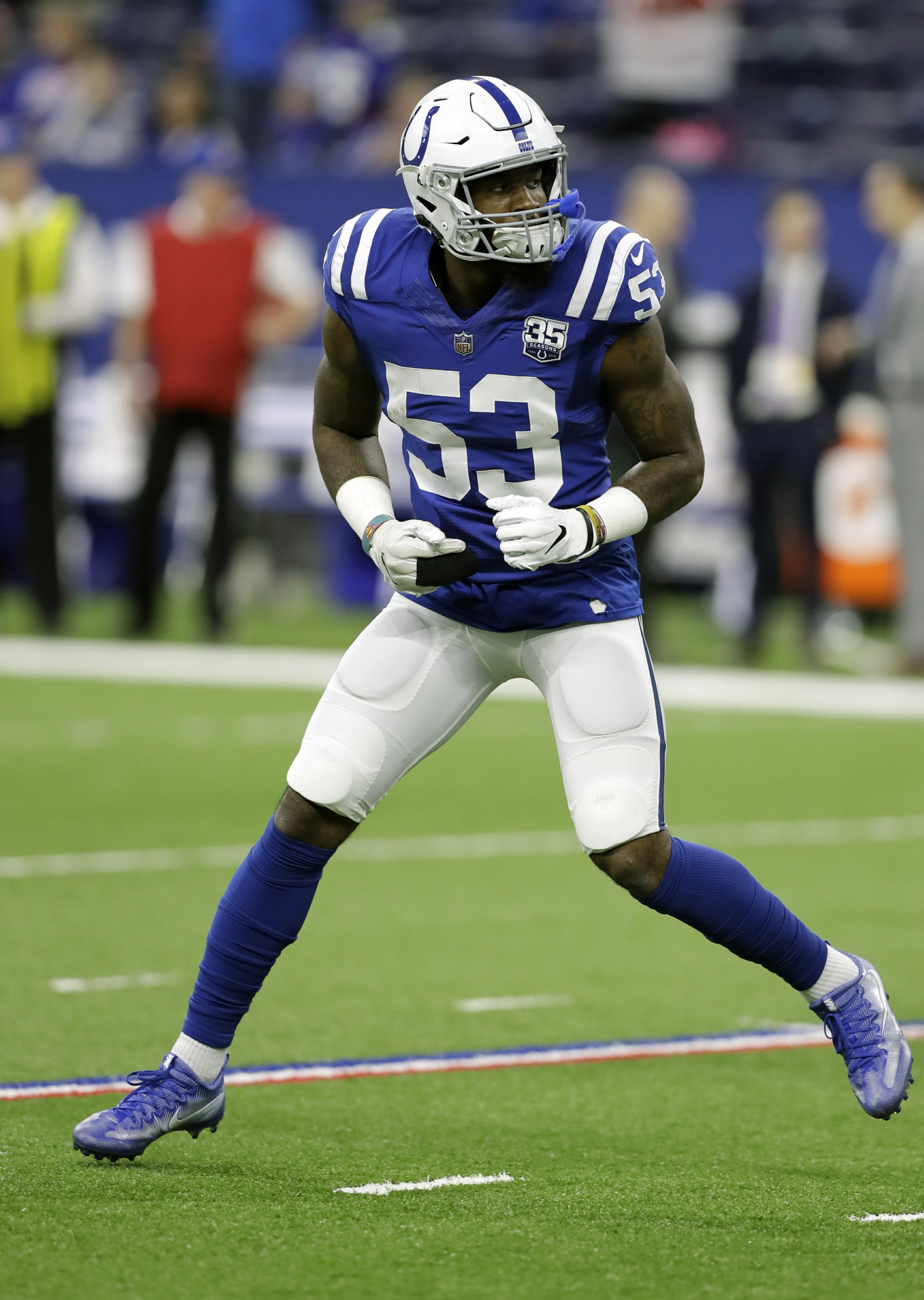 128e2601b Colts' rookie duo makes historic appearance on All-Pro team