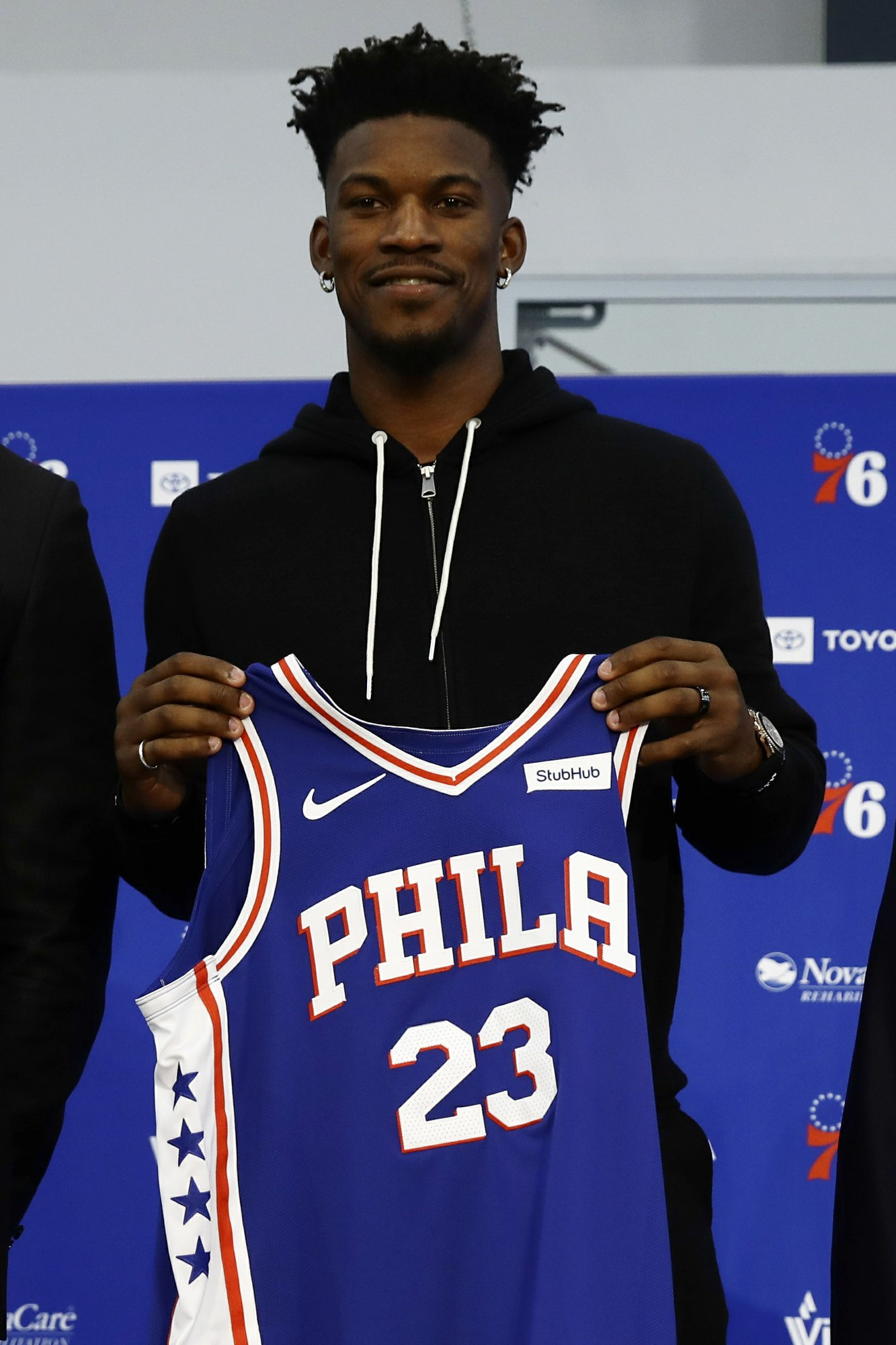 detailed look 4edf7 ac3cc Jimmy Butler ready to 'grind' and work hard in Philly