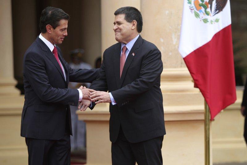 Enrique Pena Nieto, Horacio Cartes
