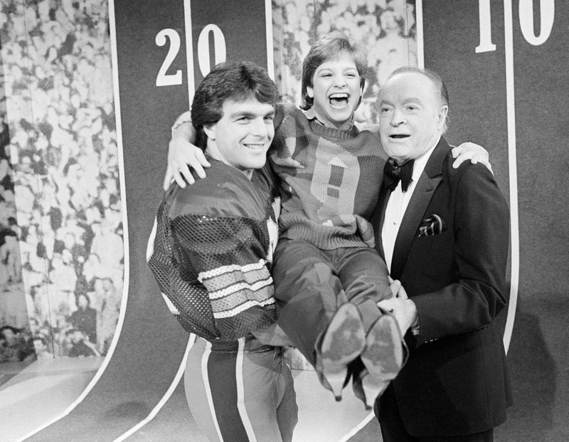 Doug Flutie, Mary Lou Retton, Bob Hope