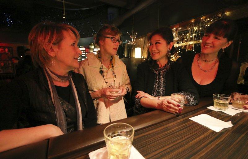 Masae Matsumoto, Cecilia Bell, Crystal Roseberry, Connie Brandon