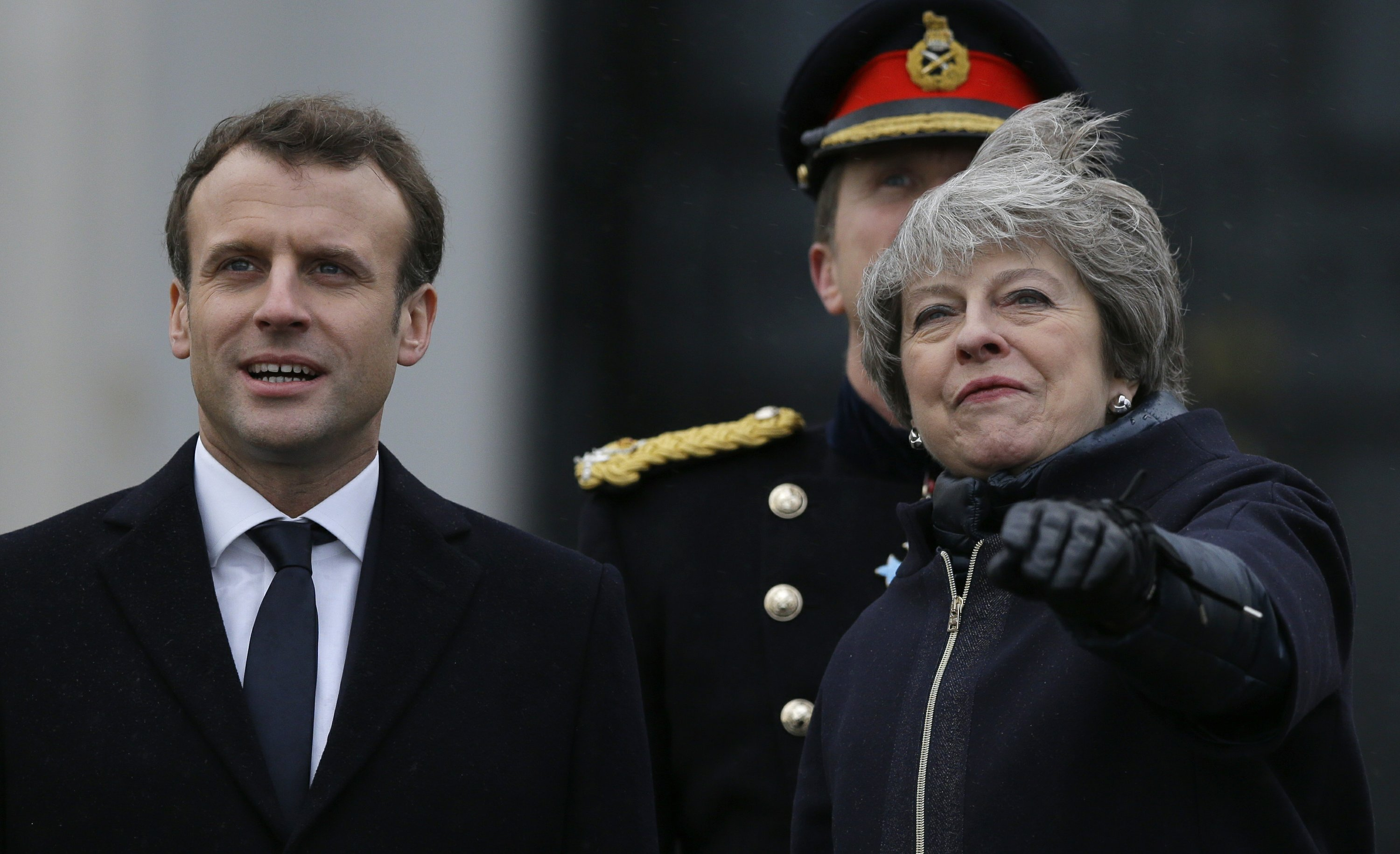 UK and French leaders reach border deal, disagree on Brexit