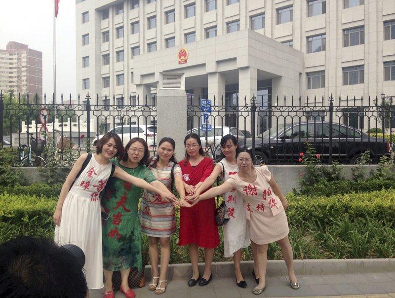 Chen Guiqiu, Li Wenzu, Wang Qiaoling, Fan Lili, Liu Ermin, Wang Yanfang