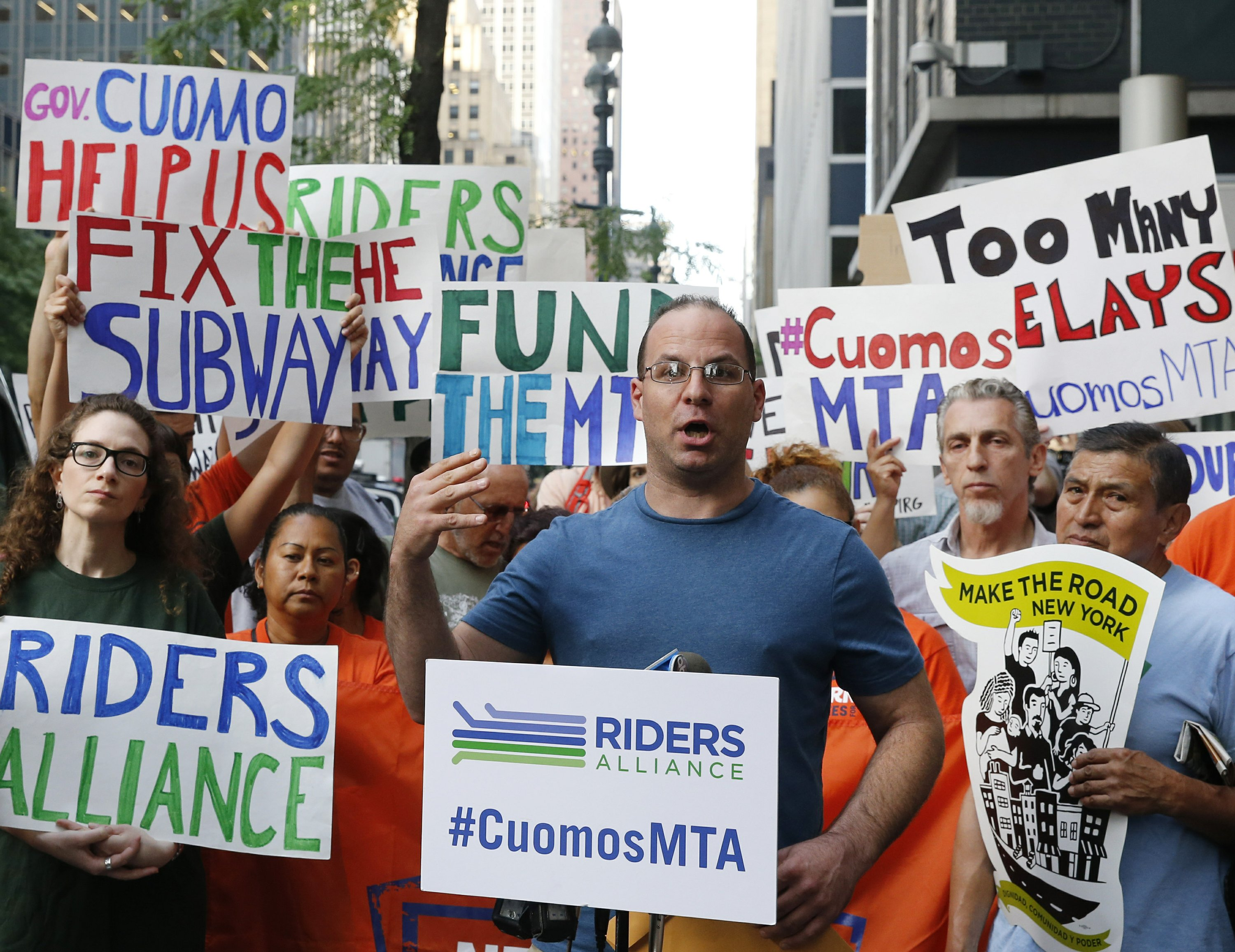 Governor declares state of emergency for NYC transit system