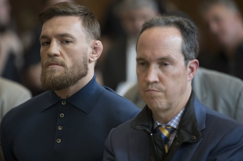 Conor McGregor, Jim Walden