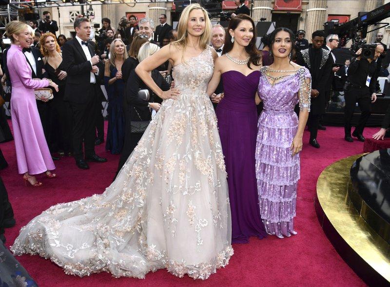 Mira Sorvino, Ashley Judd, Salma Hayek