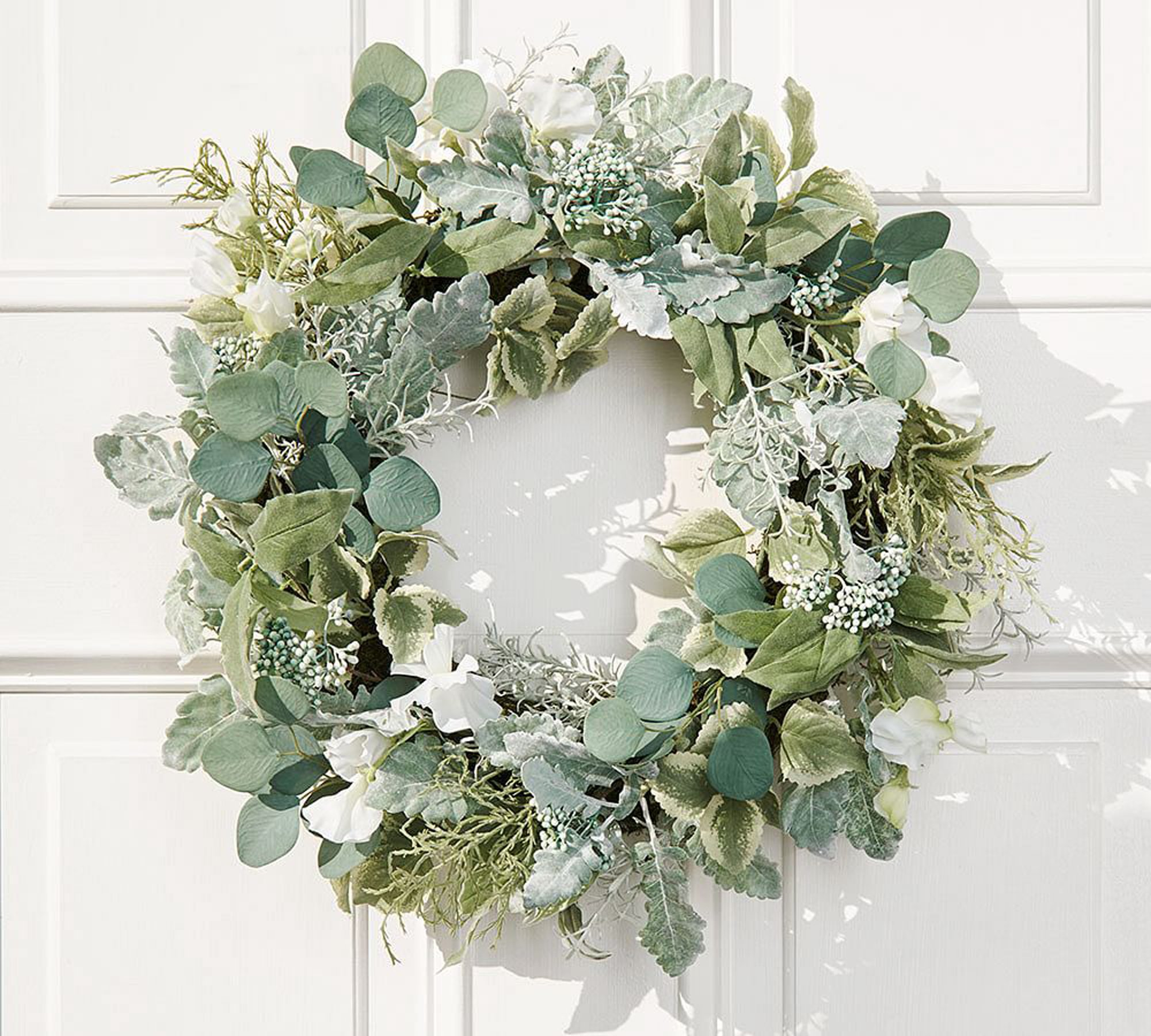 Welcome The End Of Winter With A New Spring Wreath