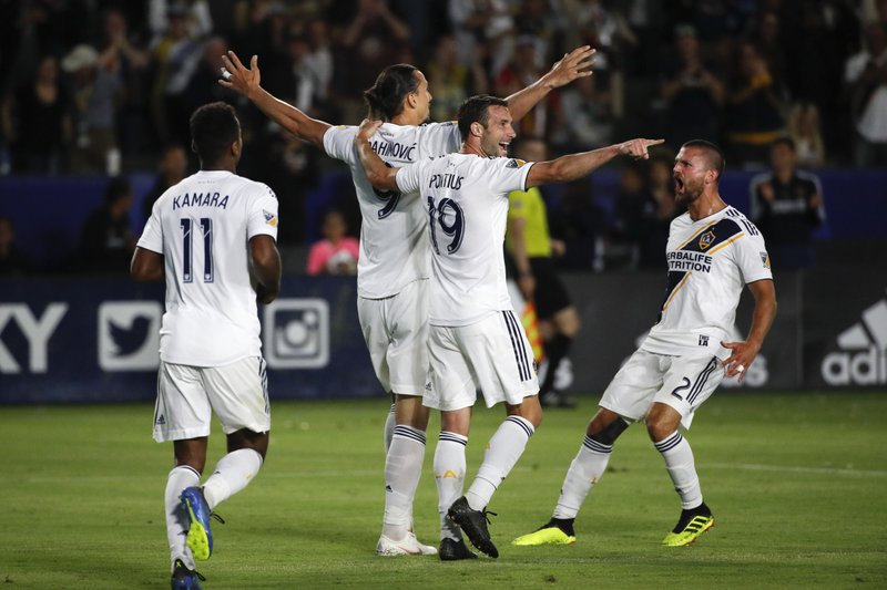 Zlatan Ibrahimovic, Ola Kamara, Chris Pontius, Perry Kitchen