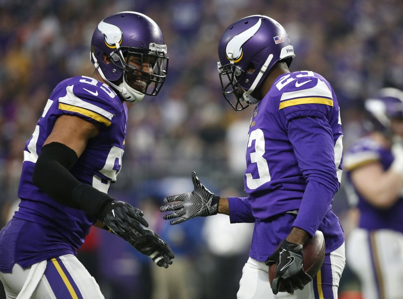 Anthony Barr, Terence Newman