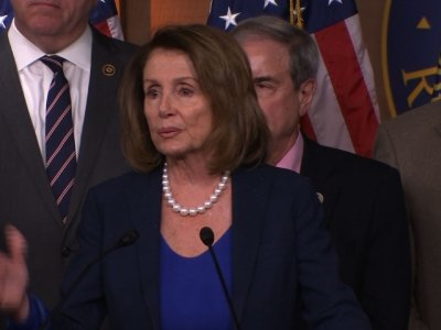 Pelosi: 'Optimistic' About Schumer-Trump Meeting