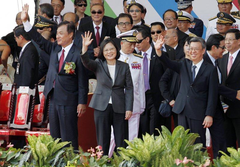 Tsai Ing-wen, Su Jia-chyuan, Chen Chien-jen