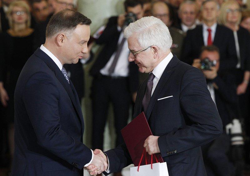 Andrzej Duda, Jacek Czputowicz