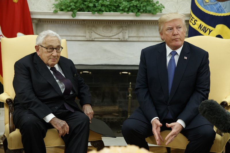 Donald Trump, Henry Kissinger