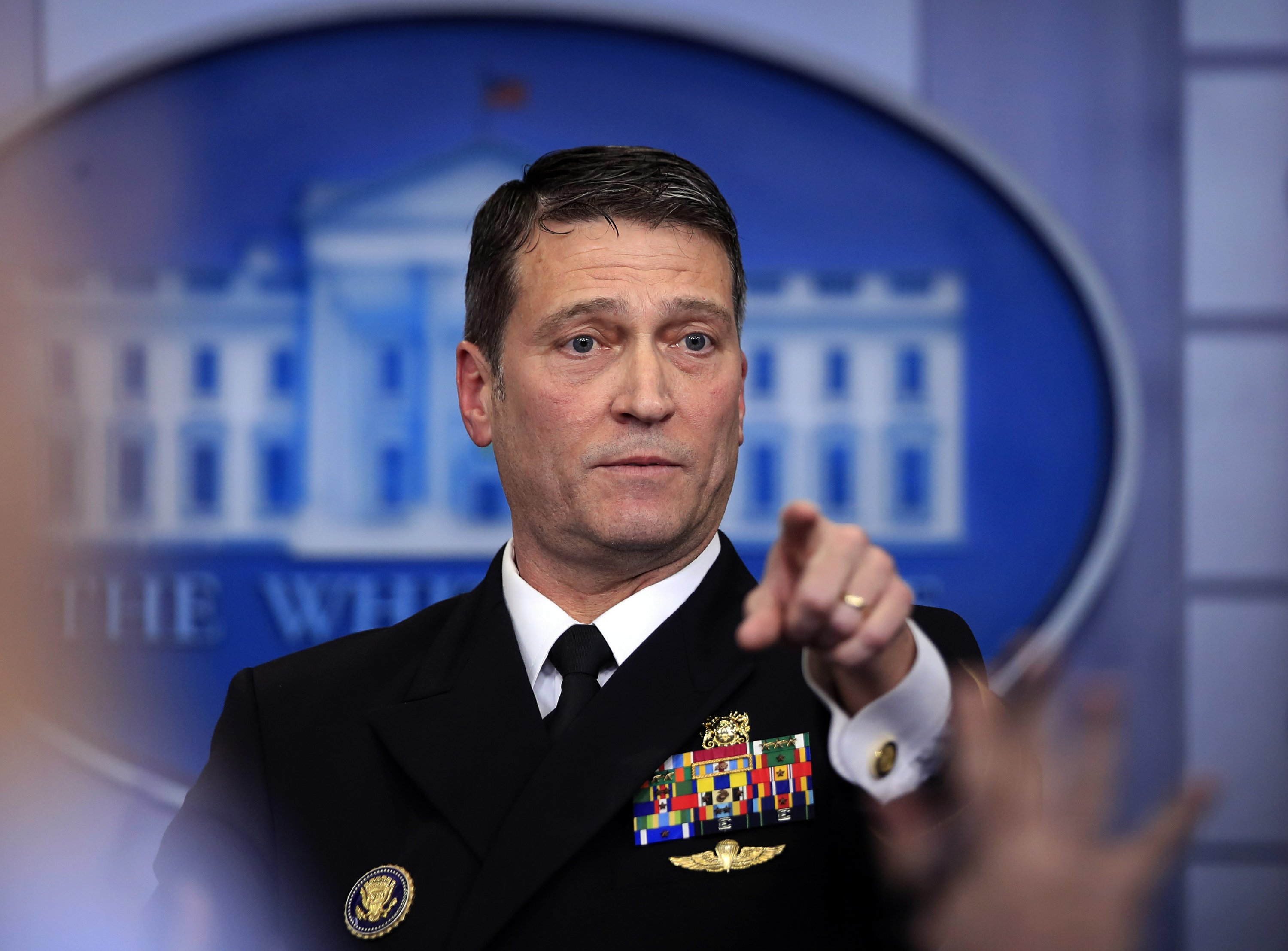 The Latest: Trump asked doctor for cognitive test