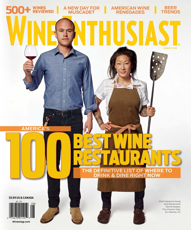 Wine Enthusiast Magazine Reveals America's 100 Best Wine Restaurants of 2018