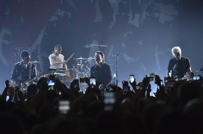 The Edge, Larry Mullen Jr, Bono, Adam Clayton