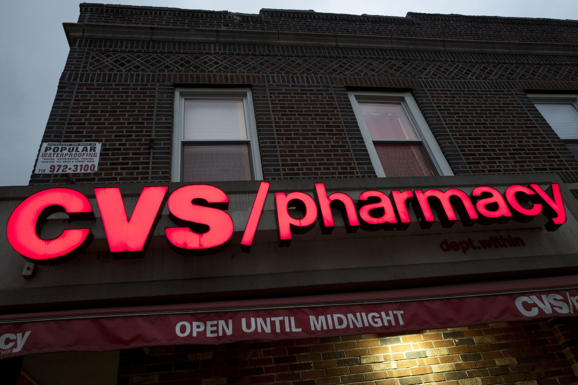 cvs health tops 2q forecasts downplays help from rebates