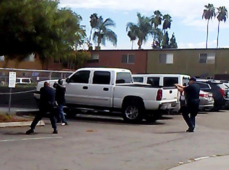 California officer guns down man in 'shooting stance'