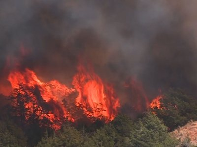 Heat, Wind, Low Humidity Fuel Oklahoma Wildfires