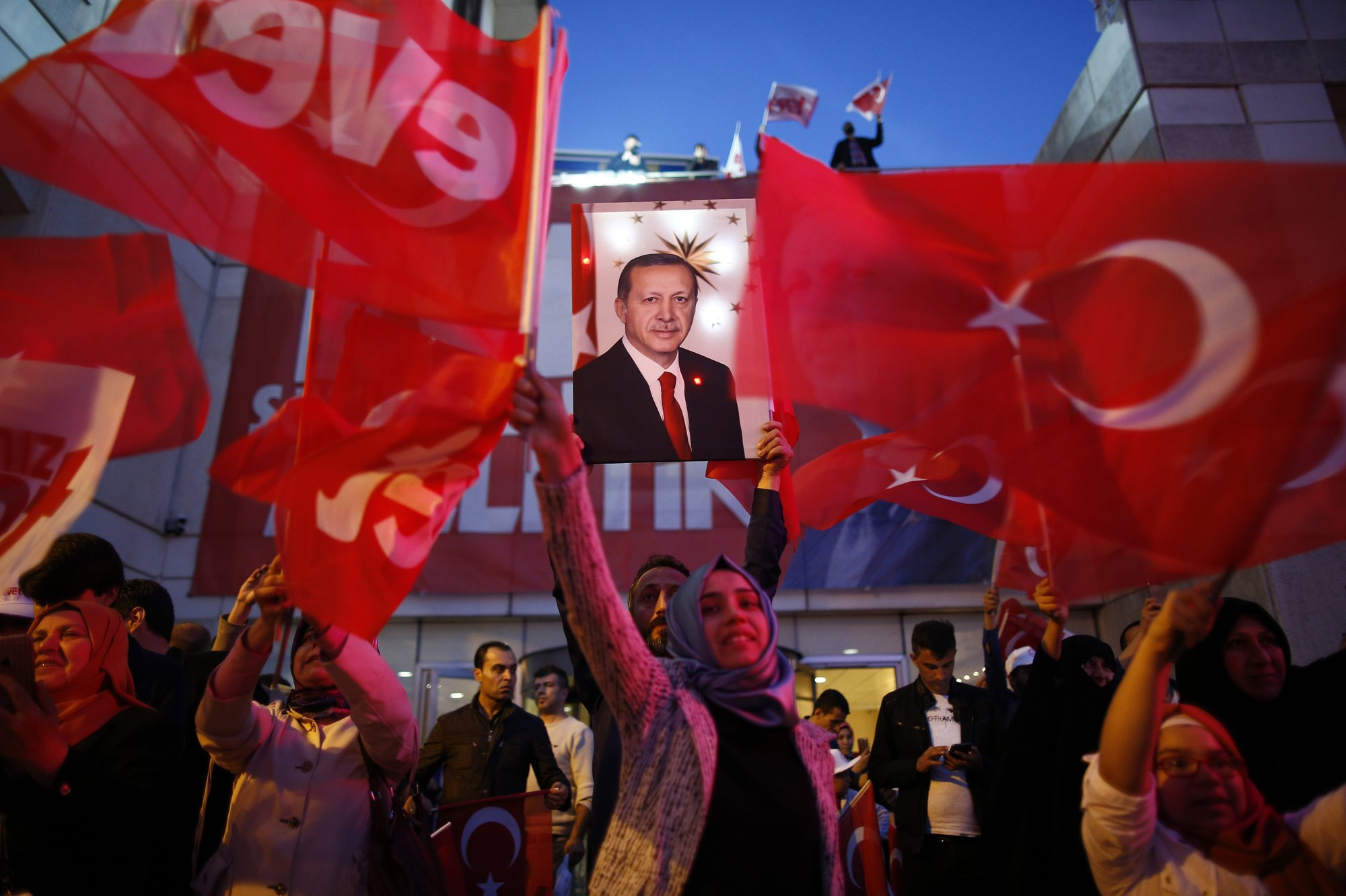 Turkey Votes To Expand Presidents Powers Critics Cry Fraud