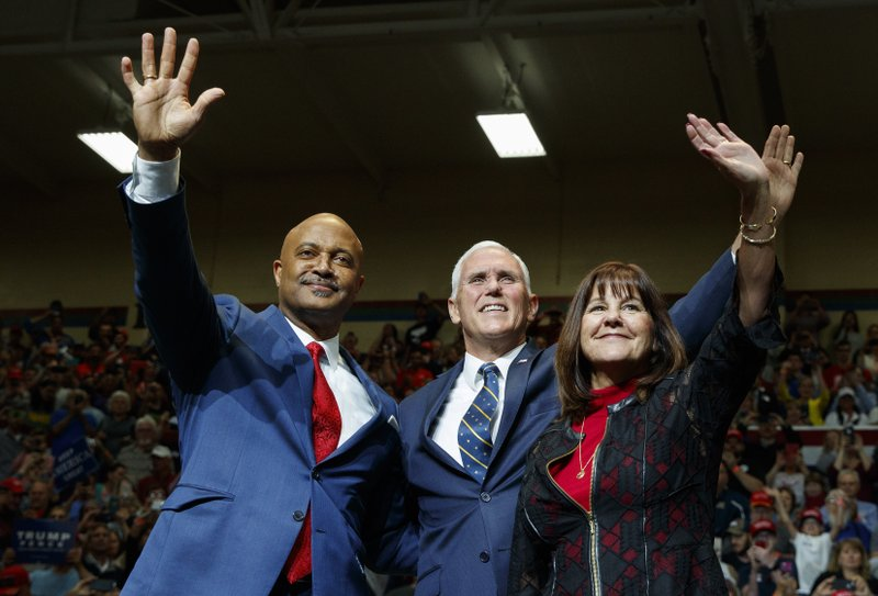 Donald Trump, Curtis Hill, Mike Pence, Karen Pence