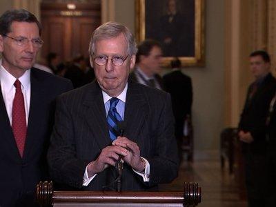 McConnell, Schumer 'Optimistic' on Spending Bill