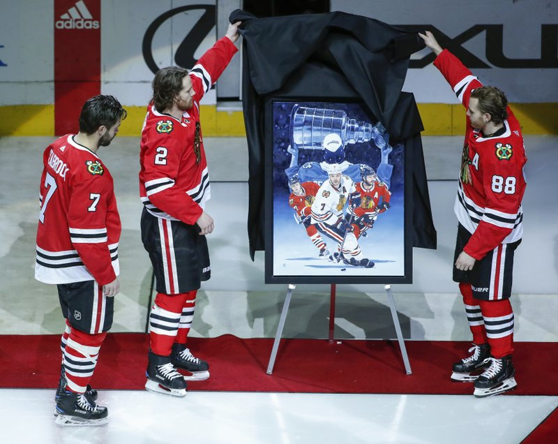 Brent Seabrook, Duncan Keith, Patrick Kane