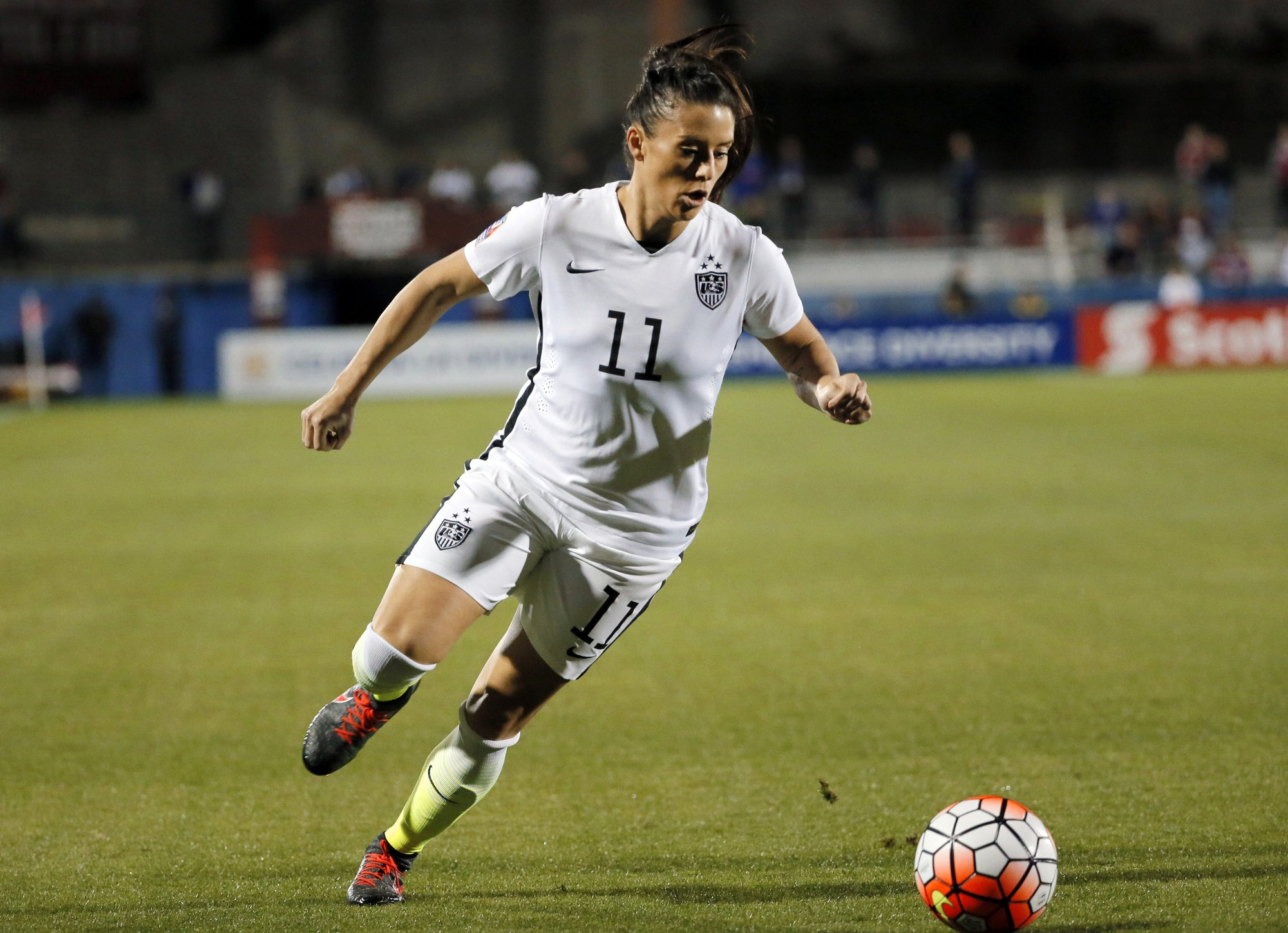 Defender Ali Krieger returns to the US women's national team