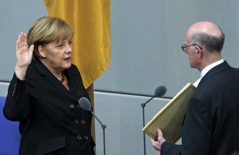 Angela Merkel, Norbert Lammert