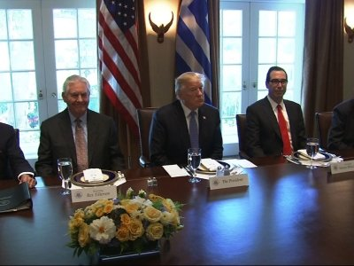 Trump Praises Greece as PM Visits White House