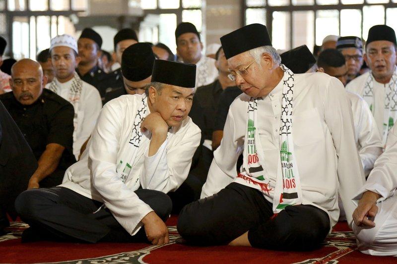 Najib Razak, Zahid Hamidi