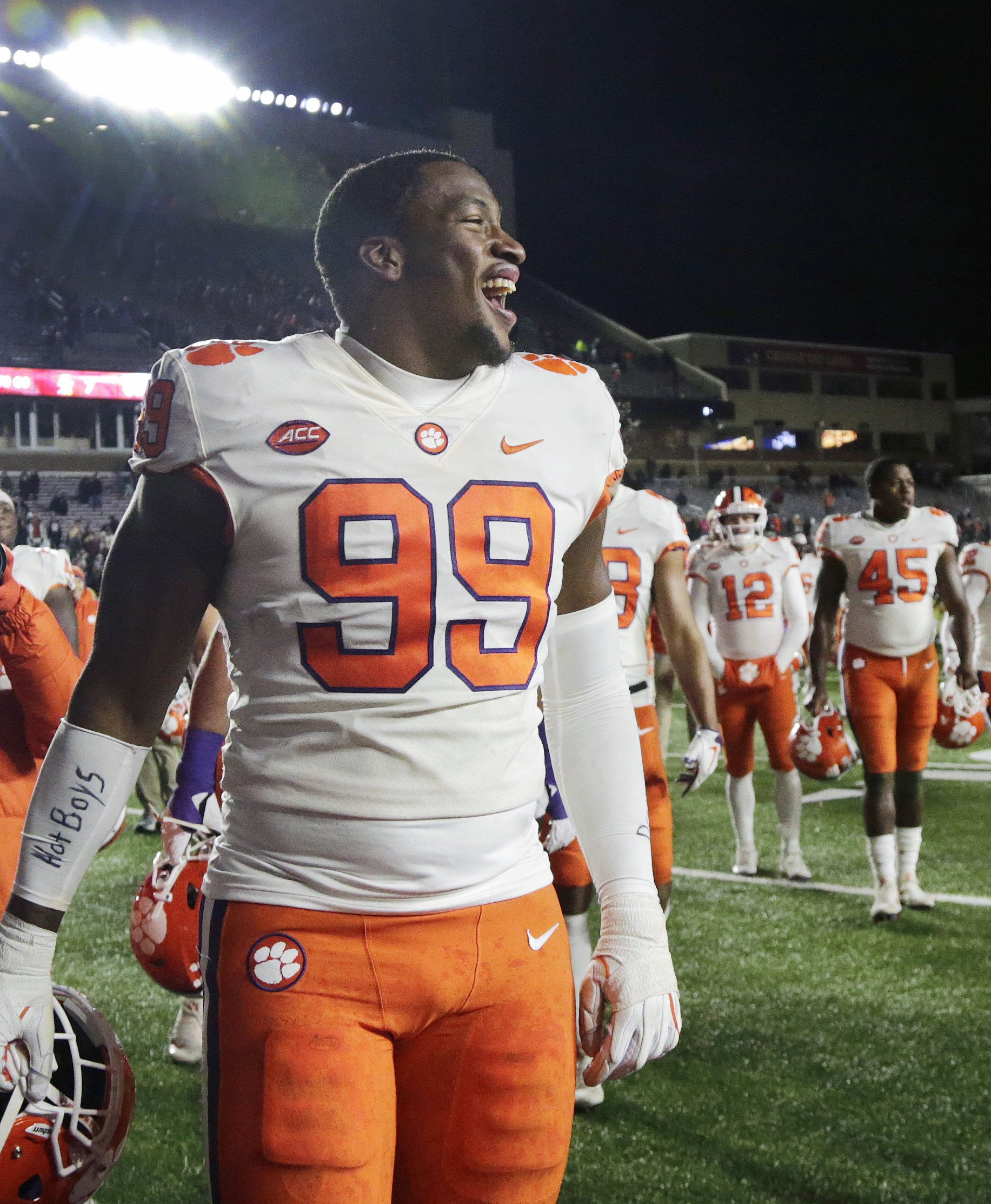 Clemson begins preparations to face Notre Dame in playoffs 662f28b29