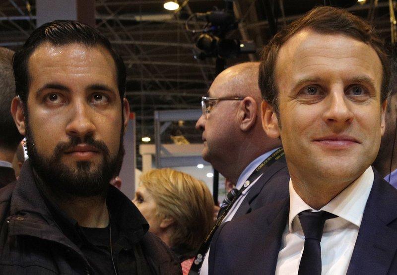 Emmanuel Macron,Alexandre Benalla
