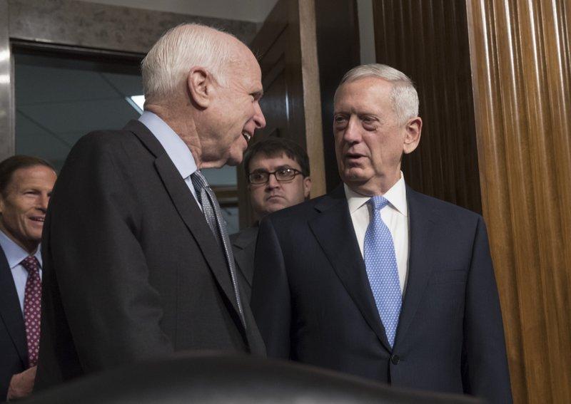 James Mattis, John McCain