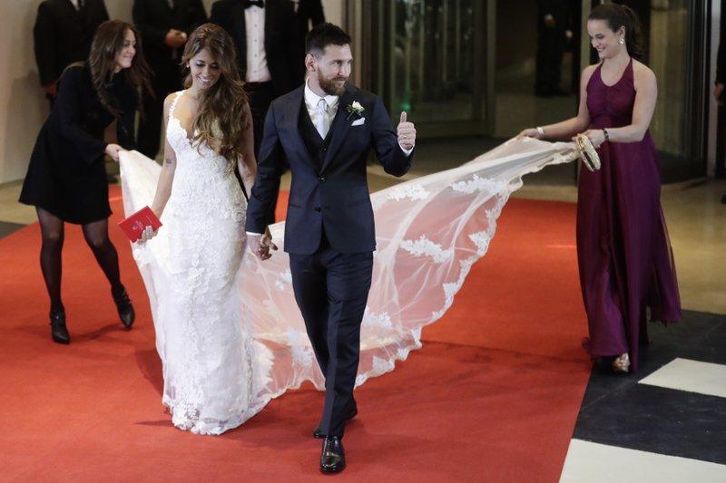 Lionel Messi, Antonella Roccuzzo