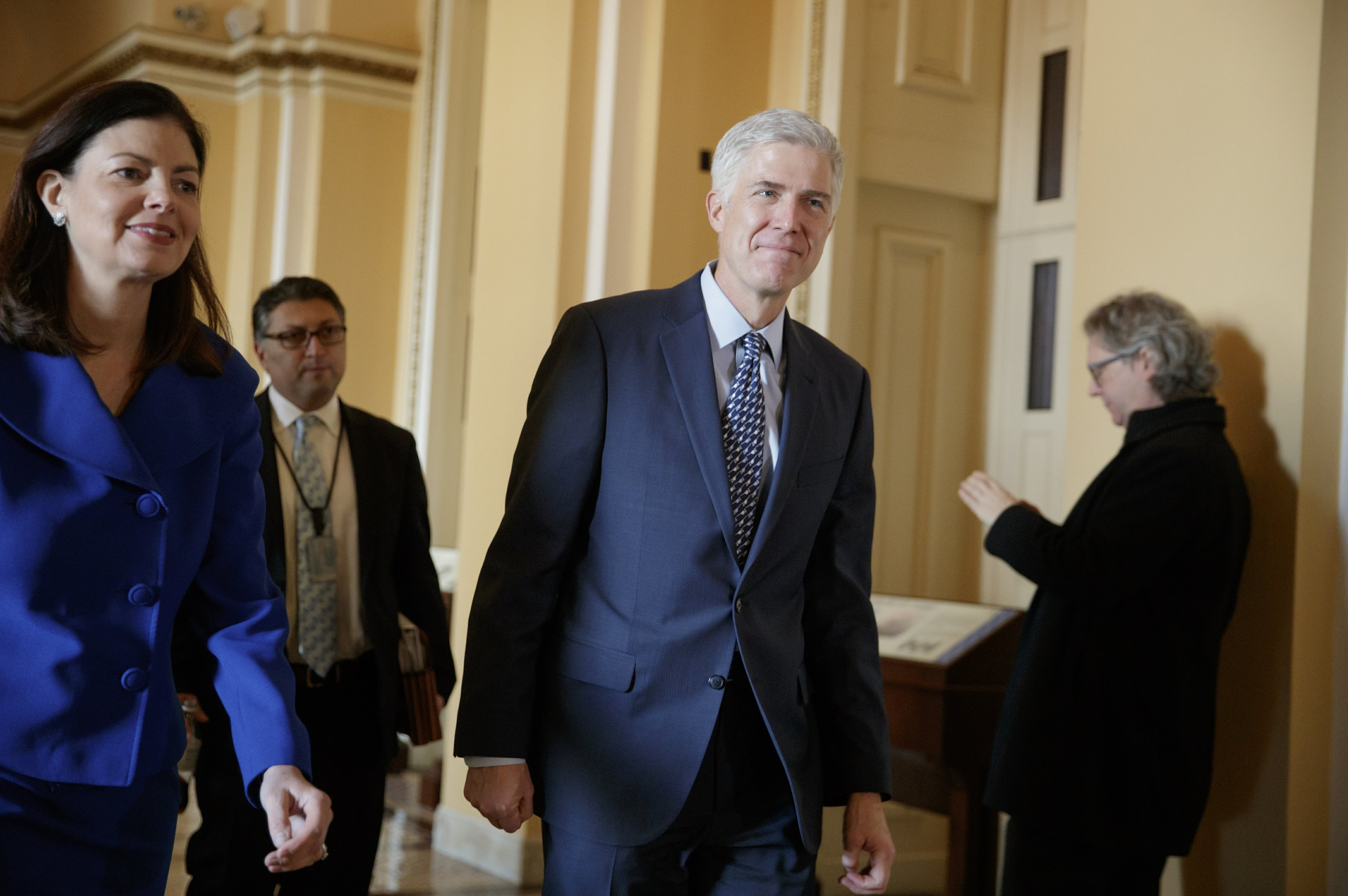 Gorsuch paid $3.28 million by former firm, under 2005 deal