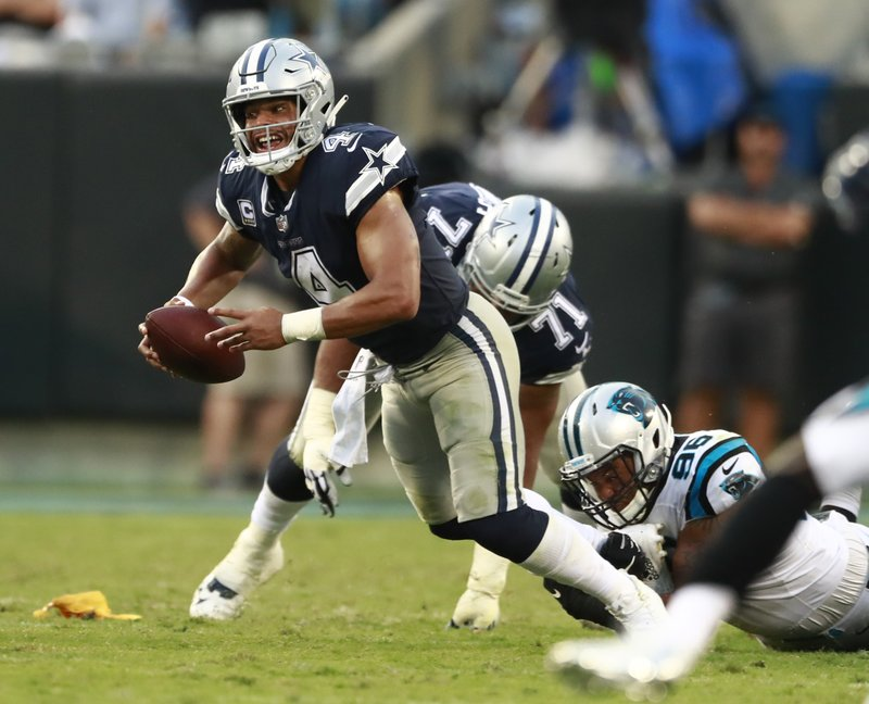 e4e7713a7 Cowboys' spotty passing attack holds key for Elliott's space