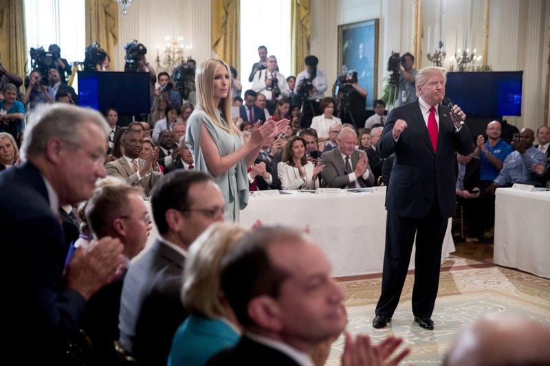 Hasil gambar untuk Employers commit to train 3.8 million workers under Trump executive order