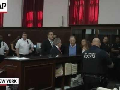 Harvey Weinstein Arraigned on Felony Sex Charges