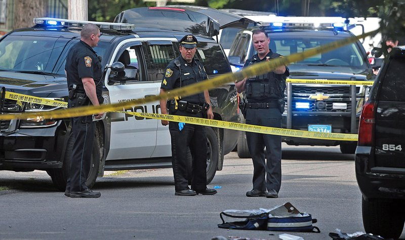 The Latest: Governor saddened by fatal police shooting