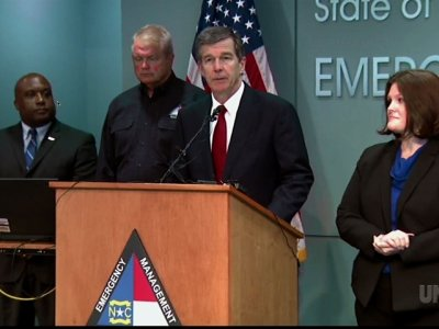 Gov. Cooper: N.C. in bull's-eye of Florence