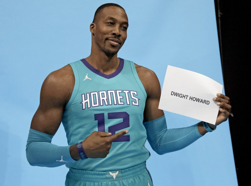 info for a967a a8c95 Addition of Howard gives Hornets reason to believe