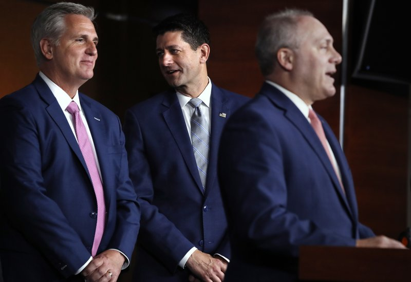 Paul Ryan, Kevin McCarthy, Steve Scalise