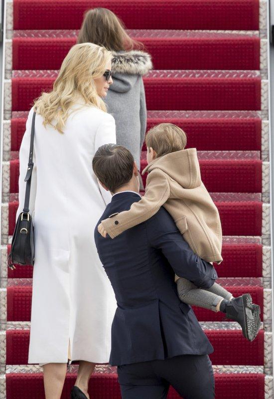 Ivanka Trump, Jared Kushner, Arabella Kushner, Joseph Kushner