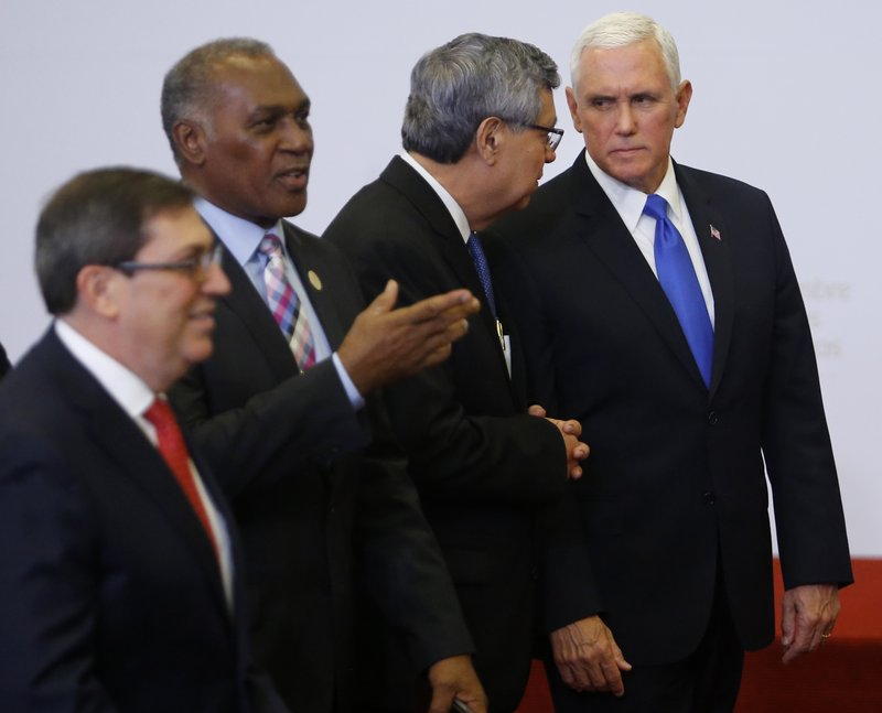 Mike Pence, Jafeth Cabrera