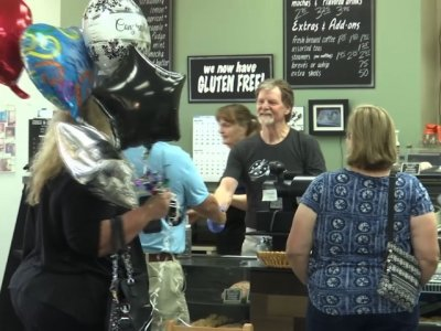 Supporters Rally Behind Cake Shop Owner