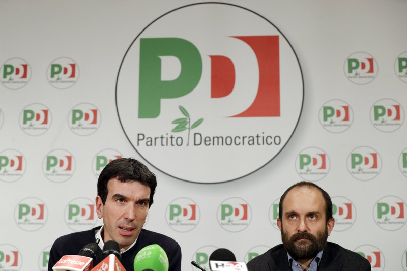 Maurizio Martina, Matteo Orfini